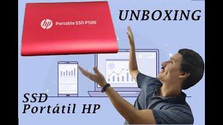 Unboxing SSD Portátil HP P500