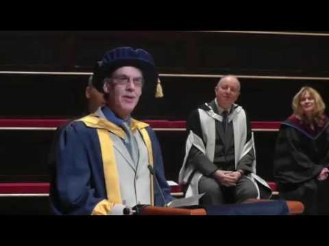 Rob Hubbard receives Honorary Doctorate of Music