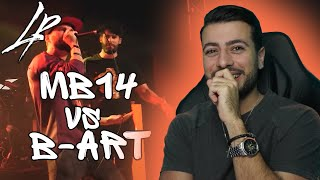 B-ART vs MB14   GBB 2019 *Reaction*   THESE GUYS ARE CRAZYYY!!!
