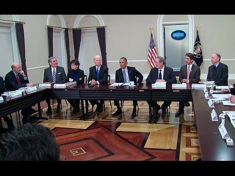 The President Meets with Democratic Governors