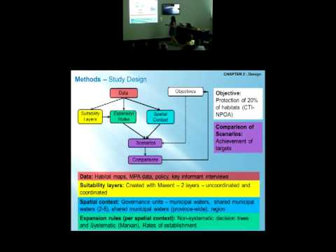 Vera Horigue - Scaling up to form marine protected area networks: the role of coordination of [...]