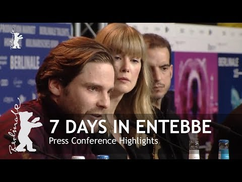 7 Days in Entebbe  Press Conference Highlights  Berlinale 2018