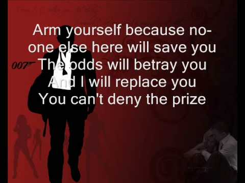 James Bond Casino Royale Lyrics 0001
