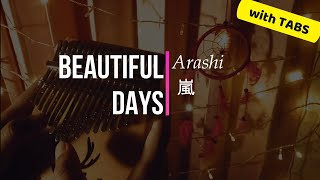 Arashi (嵐) - Beautiful Days | Kalimba Cover | with Easy Tabs