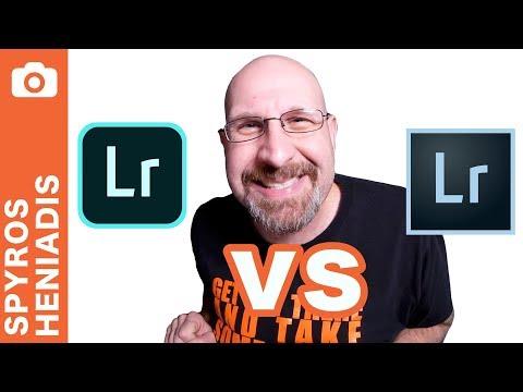 Lightroom CC vs Lightroom CC Classic vs Lightroom 6