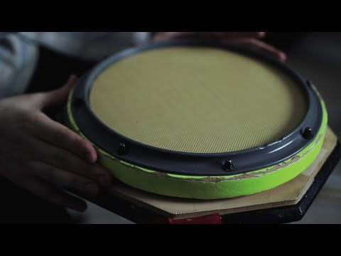 Xymox Reserve Corp Snare Pad VS. Vintage Real Feel Pad