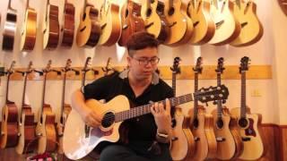 Bụi phấn - Guitar Tiến Nguyễn(Ngẫu hứng ngày 20-11-2015)