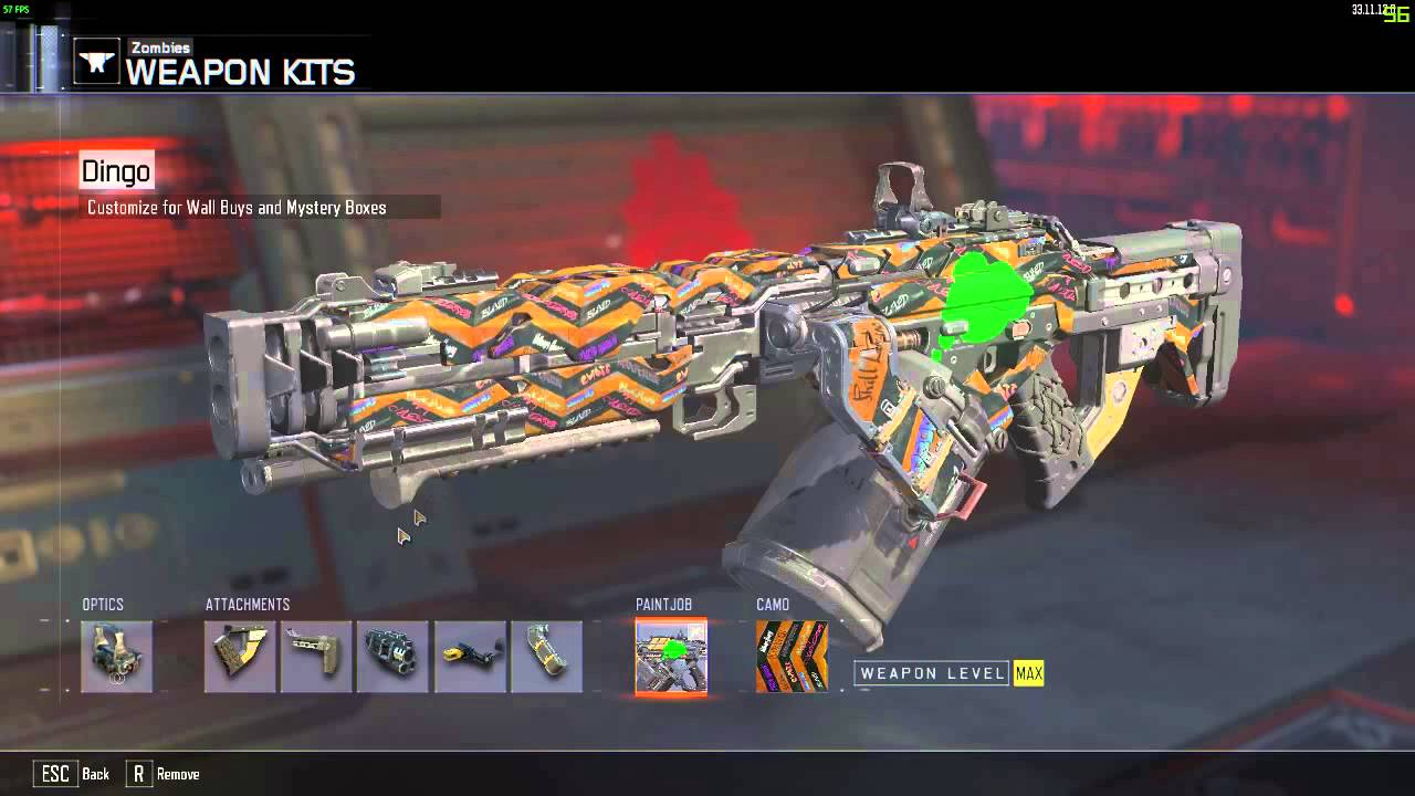 Black Ops 3 Zombies Weapon Kit Bug Fixed In Update 37 1 1 0 For