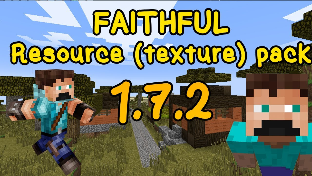 Faithful Resource Texture Pack 1 7 2 Youtube