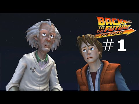 Let's Play Back to the Future: The Game [German] - #1 - Back in Time