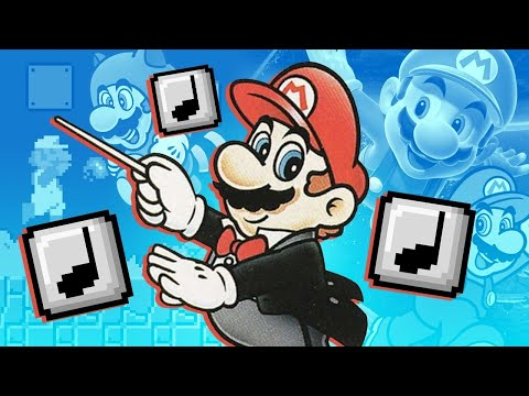The Evolution of Music in Mario Games