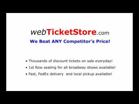 Broadway Tickets @ WebTicketStore