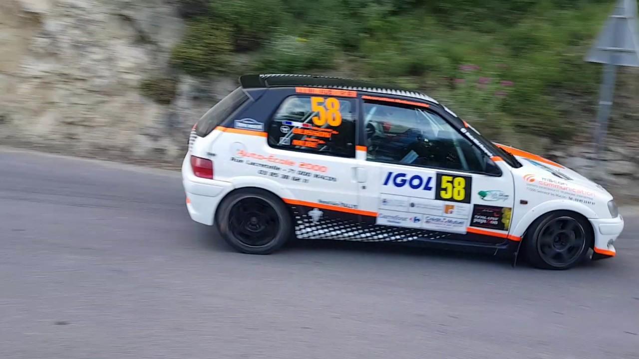 Rallye d 39 antibes 2017 es 8 gilette bonson youtube - Rallye d antibes 2017 ...