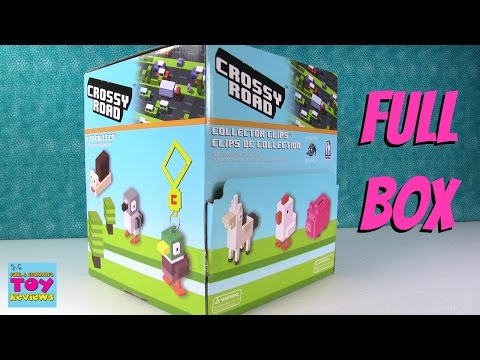 Crossy Road Game Collector Clips Series 1 Blind Bag Opening | PSToyReviews