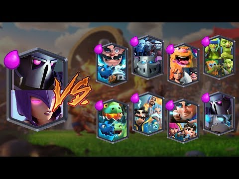 PEKKA + WITCH VS ALL TEAMS | CLASH ROYALE TEAM CHALLENGE