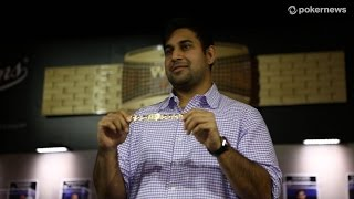Ankush Mandavia Wins his First Bracelet