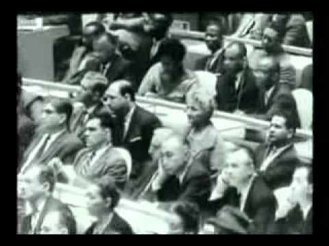 JFK SPEECH ON NUCLEAR WEAPONS TESTING BAN AND WORLD PEACE