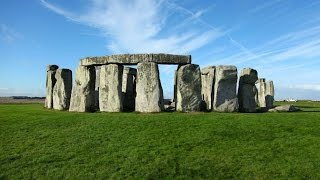 Stonehenge England is located here on Google Earth Maps
