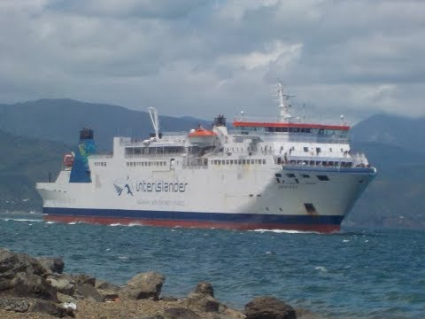 Boat Tour and Trip! Interislander Ferry Aratere Wellington to Picton
