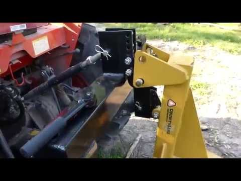 3- Point Quick Hitch from Harbor Freight Part 1 of 2