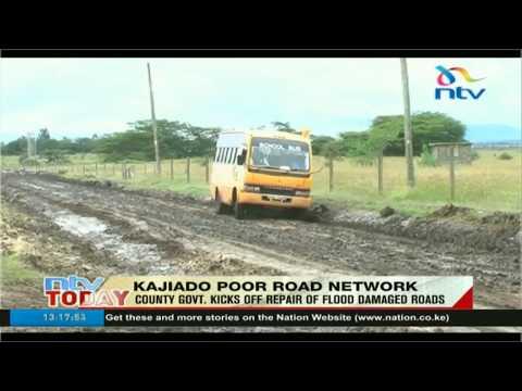 Kajiado county kicks off repairs of roads damaged by floods