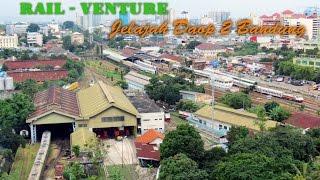[HD] Jelajah Kereta Api di Bandung Bagian 1 - Explore Bandung Railway Part 1