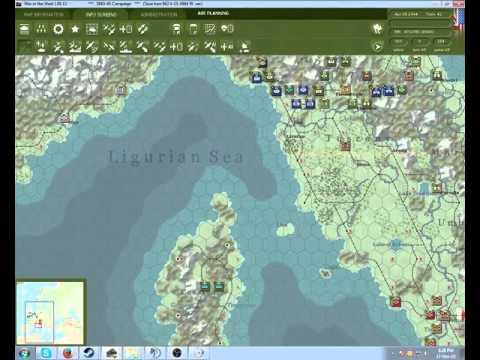 War in The west AAR/LP - part 4. ITALY IS MINE |