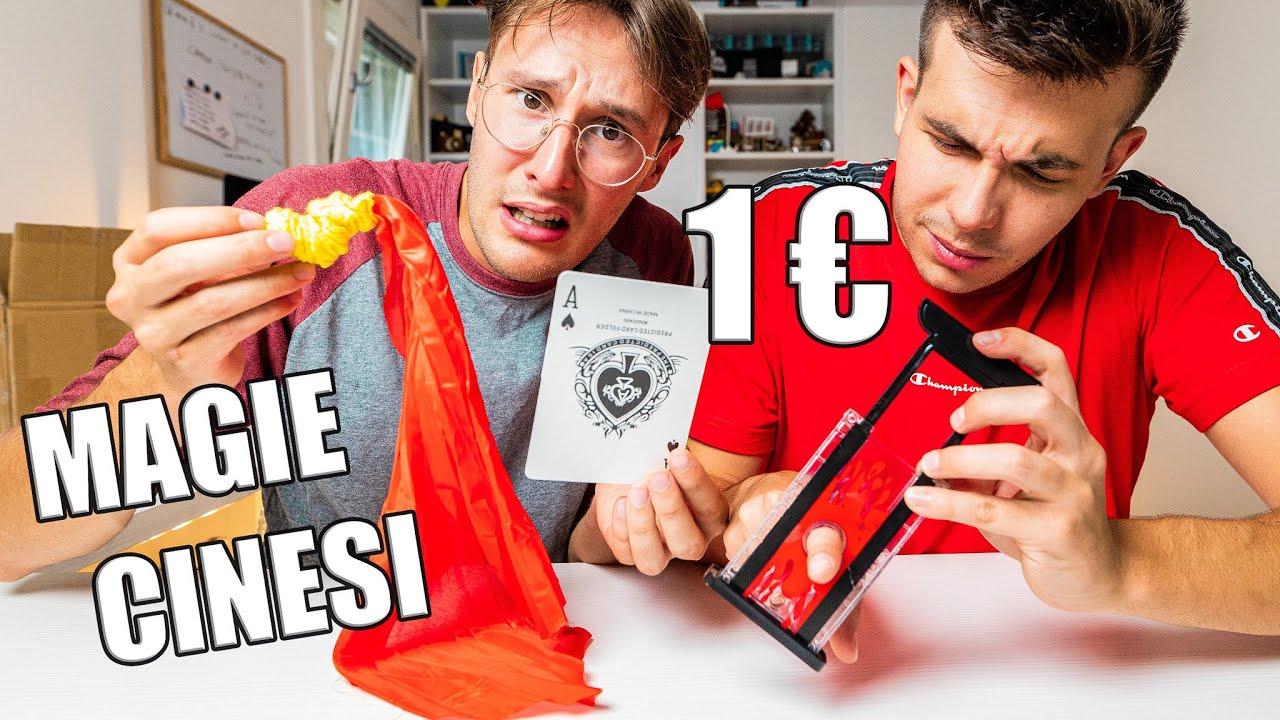 PROVO MAGIE CINESI DA 1€ (taglio il dito a Sbard)