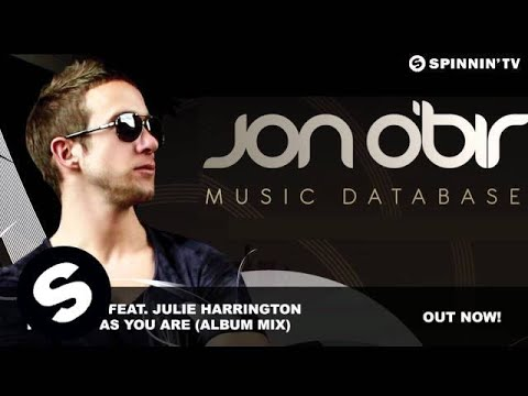 Jon O'Bir feat. Julie Harrington - Perfect As You Are (Album Mix)