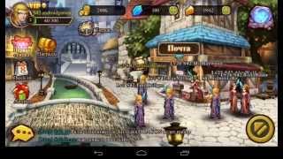 видео Обзор игры на android Heroes X Darkness
