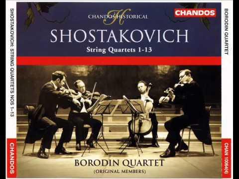 Shostakovich - String Quartets 11, 12 & 13