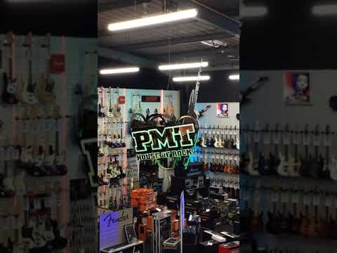 Gordon Signs - PMT Portsmouth Music Ceiling Hung Revolving Sign Installation
