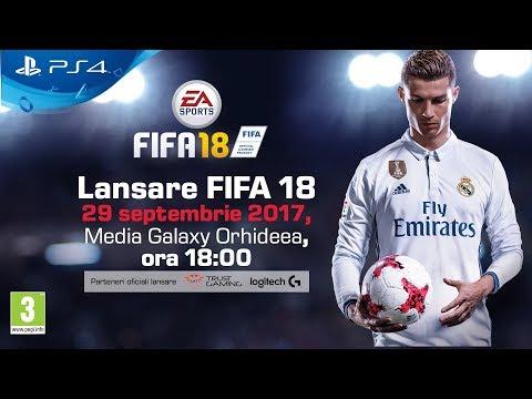 Livestream - Lansare FIFA 18