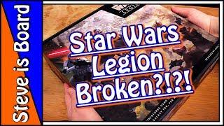 BOXING Star Wars Legion Core Game!