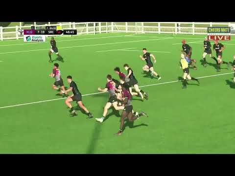 Watch the Harlequins Academy tries from narrow defeat to Saracens