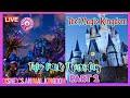 🔴LIVE.The Magic Kingdom|Two Park Thursday|HEA| TTA|Peter Pan's Flight