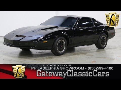 1982 Pontiac Firebird K.I.T.T. Tribute - Philadelphia Showroom - Stock #414