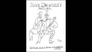 "Igor Stravinsky (1882–1971), ""Ragtime"" (1919)"