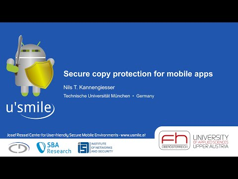 Secure copy protection for mobile apps (by Nils T. Kannengiesser)