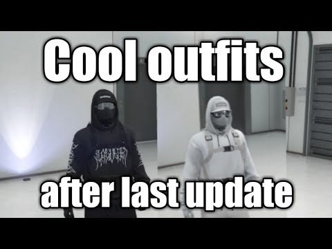 Gta 5 Cool Outfits After The Last Update !!!