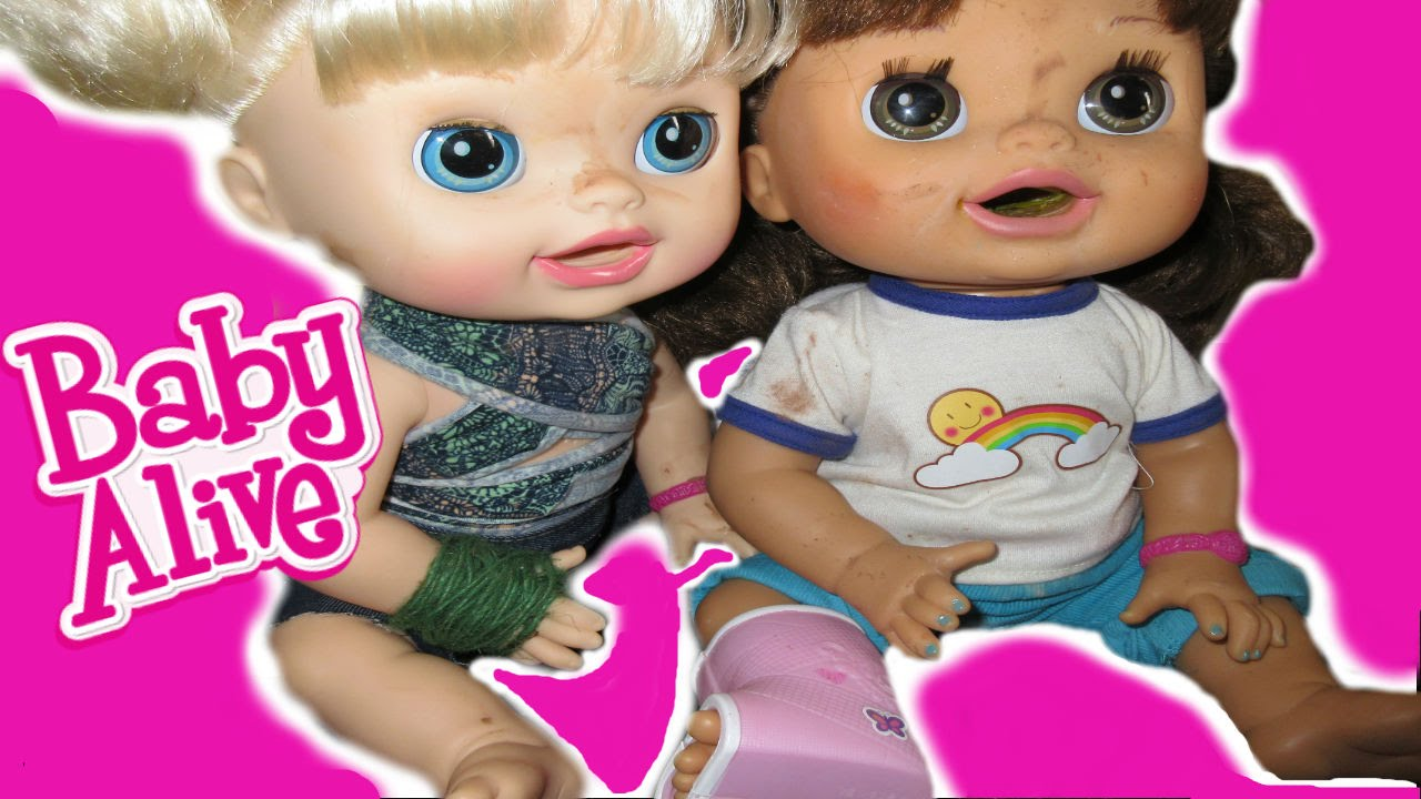 Baby Alive Pumpkin Comes Home Audrey Joins The Family Youtube