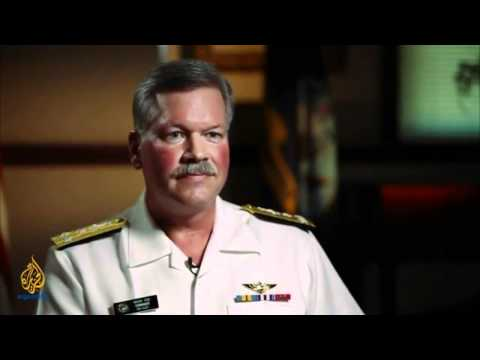 American 5th fleet Commander about Bahrain