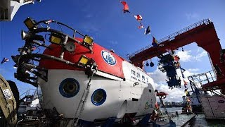 Key process in construction of advanced Chinese manned submersible completed