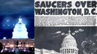 UFO Sightings over Washington D.C. and The White House in 1952 - FindingUFO