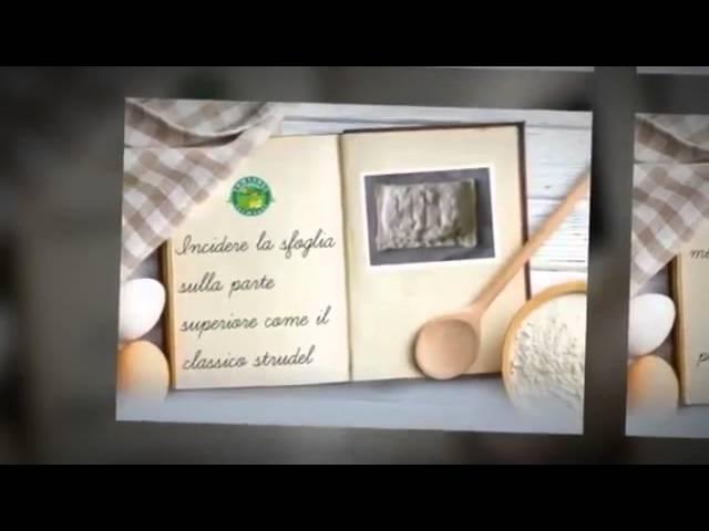 Video Ricetta Strudel con spinaci e Formaggio Piccantino