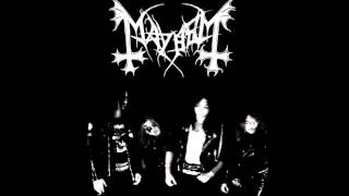 Mayhem - Freezing Moon - 1990 Demo (Remastered)