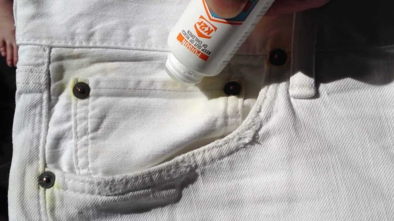 how to make your clothes stain proof