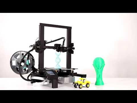 Longer LK4 FDM 3D printer overview