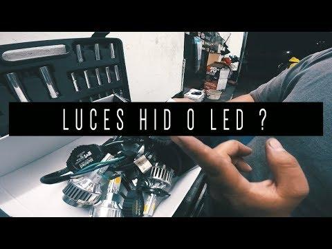 LUCES HID O LED ? | QUE ES MEJOR ?