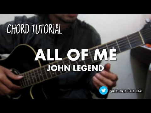 All of Me - John Legend (CHORD)